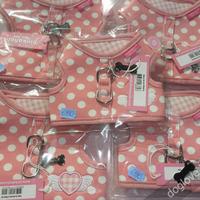 Termékbemutató - Pöttyös textilhám rózsaszín