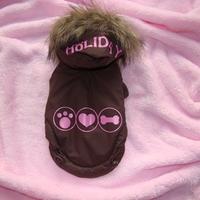 Termékbemutató - Barna szőrmés kabát