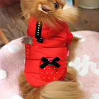 ParisDog - Hush kutyakabát piros