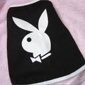 Termékbemutató - Playboy fekete klasszikus kutyapóló
