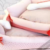 Termékbemutató - Rózsaszín csontpárnás fekhely