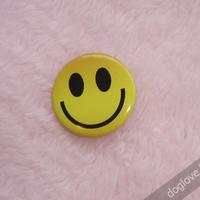 Termékbemutató - Smiley kitűző