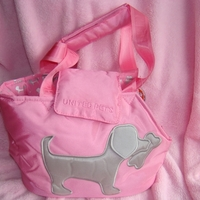 Termékbemutató - Rózsaszín kutyás hordozó