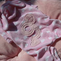 Termékbemutató - Rózsaszín nyuszifüles overall