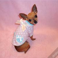 Termékbemutató - Édes pöttyös rózsaszín kutyapóló