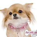Termékbemutató - Rózsaszín Swarovski gyöngyös nyakörv