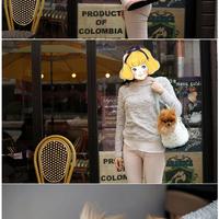 ParisDog - Dot linen kutyahordozó táska