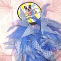 Termékbemutató - Kék kockás parti nyakörv