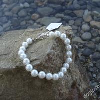 Termékbemutató - Fehér gyöngy nyaklánc
