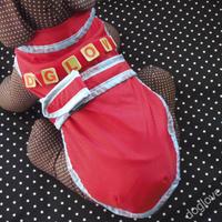 Termékbemutató - Piros bélelt esőkabát