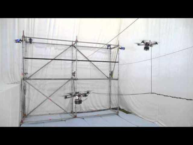 Hídépítő drónok