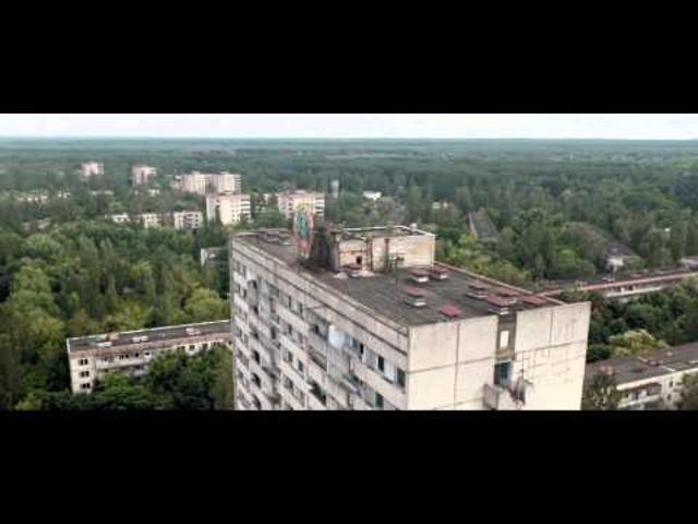 Csernobil fentről