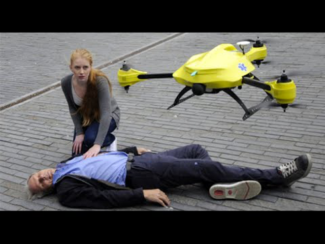 Another life saving device: a defibrillátor drón