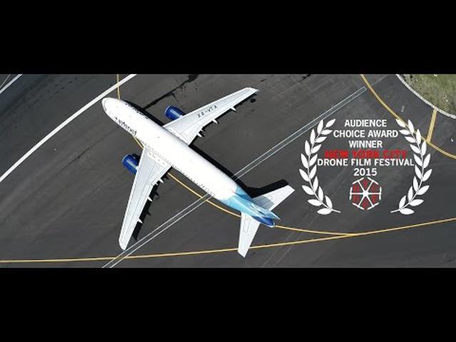 Repülőtér madártávlatból