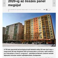 2013.12.10: Minden panelházat felújítanak 2020-ig