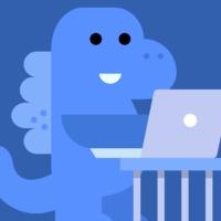 Kék dínóval támad a Facebook