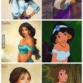 Disney hercegnők valódiként
