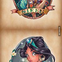 Disney tetkók