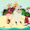 A tévében mutatkozik be Szeiler Péter animációs kalandsorozata, a Hajótöröttek