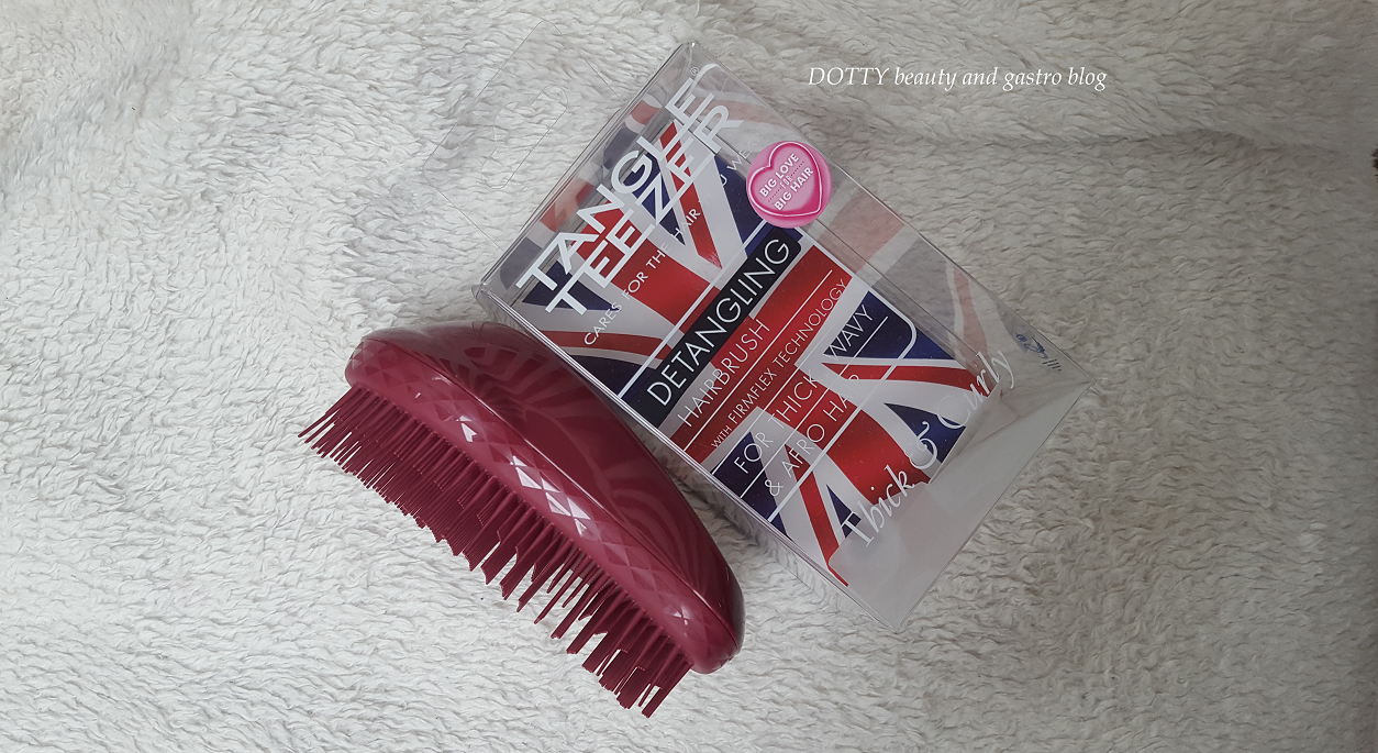 Tangle Teezer Thick and Curly Afro hajkefe - DOTTY beauty   gastro blog 235e34d6d5
