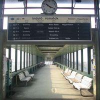 Sztrájk volt a tatabányai vasútállomáson (is)