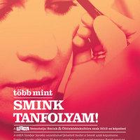 Sminktrend előadás és workshop Tombor Saroltával