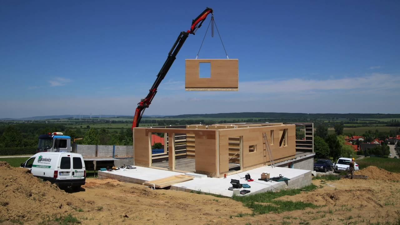 Gyorsan költözhető otthonok - a készházak