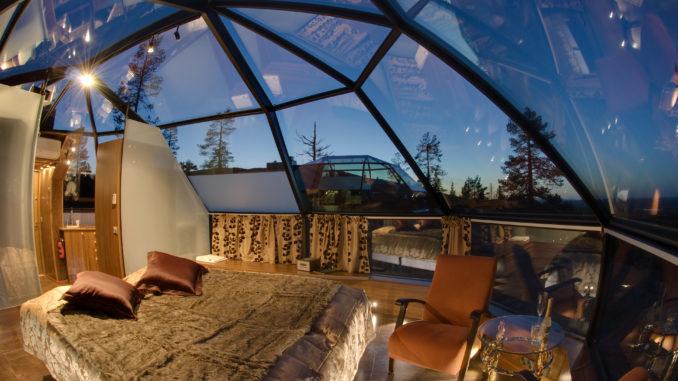 Páratlan élményt nyújtó buborék házak - Te kipróbálnád?