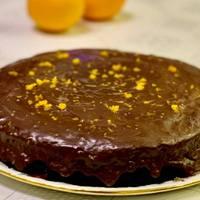 Brutál narancsos csokitorta