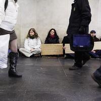 Ma a hajléktalanok. Holnap te jössz!