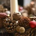 CSINÁLD MAGAD: ÉVES ADVENTI KOSZORÚ PROJEKT (Pinecone advent wreath)