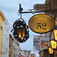Eldugott Wiener Schnitzel lelőhely Bécsben (COVERED WIENER SCHNITZEL PLACE IN VIENNA)