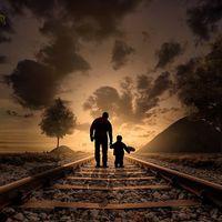 Gondolatok az apaságról: Apa és fia (vers)