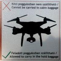 Budapest Airport: Tilos drónt vinni kézipoggyászban