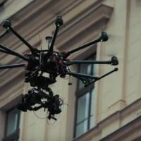 Drónos homlokzatfelmérést végeznek a belvárosban