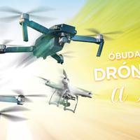 Drónos közönségtalálkozó a hétvégén Óbudán