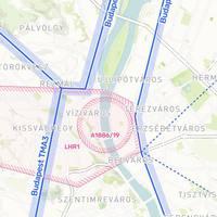 Vasárnap újra légtér korlátozás Budapest belvárosában