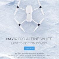 Alpesi fehér Mavic Pro-t jelentett be a DJI