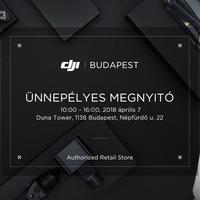 Nyílik az első budapesti DJI márkabolt