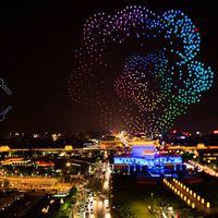 Újabb drón show világrekord, ezúttal Kínában