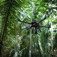3D nyomtatóval készült drón régészek számára
