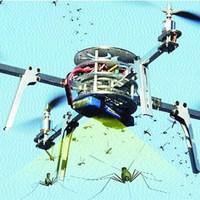 Szúnyogokra vadászik a Microsoft drónja