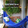 Summer, chill, nature -mindez az erkélyen!