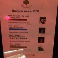 OXYGÉN Naphegy - Budapest -Fantáziavilág Szaunasze@nsz Est