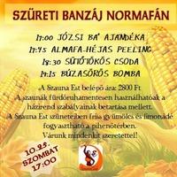 Hotel Agro - Normafa - Szüreti Banzáj Normafán - Kocsis Ibolya & Orbán Noémi