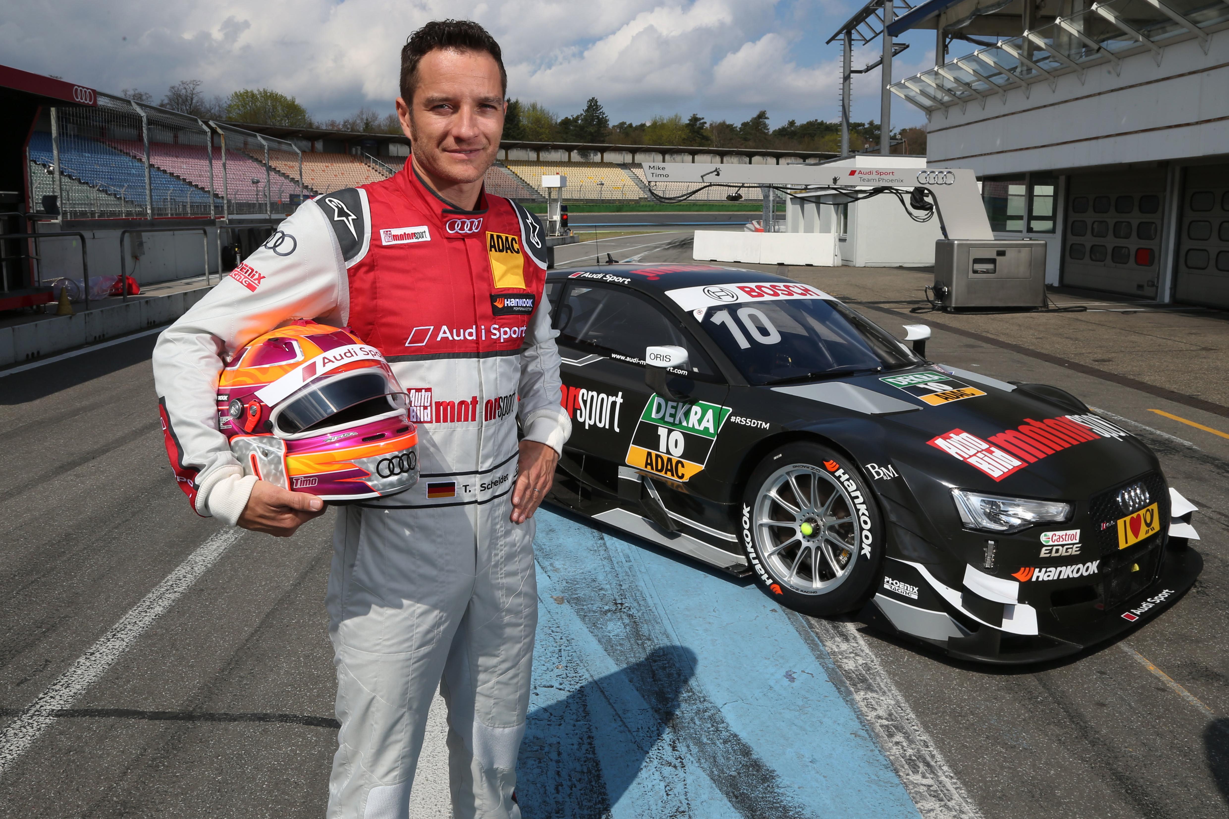 #10 Timo Scheider AUTO BILD MOTORSPORT Audi RS5 DTM