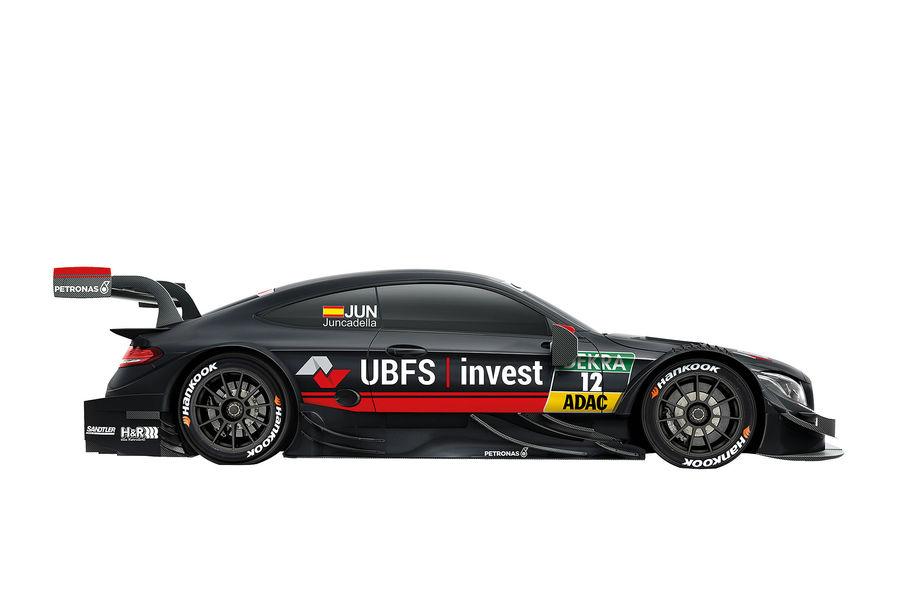 #12 Daniel Juncadella SILBERPFEIL Energy/UBFS invest Mercedes-AMG
