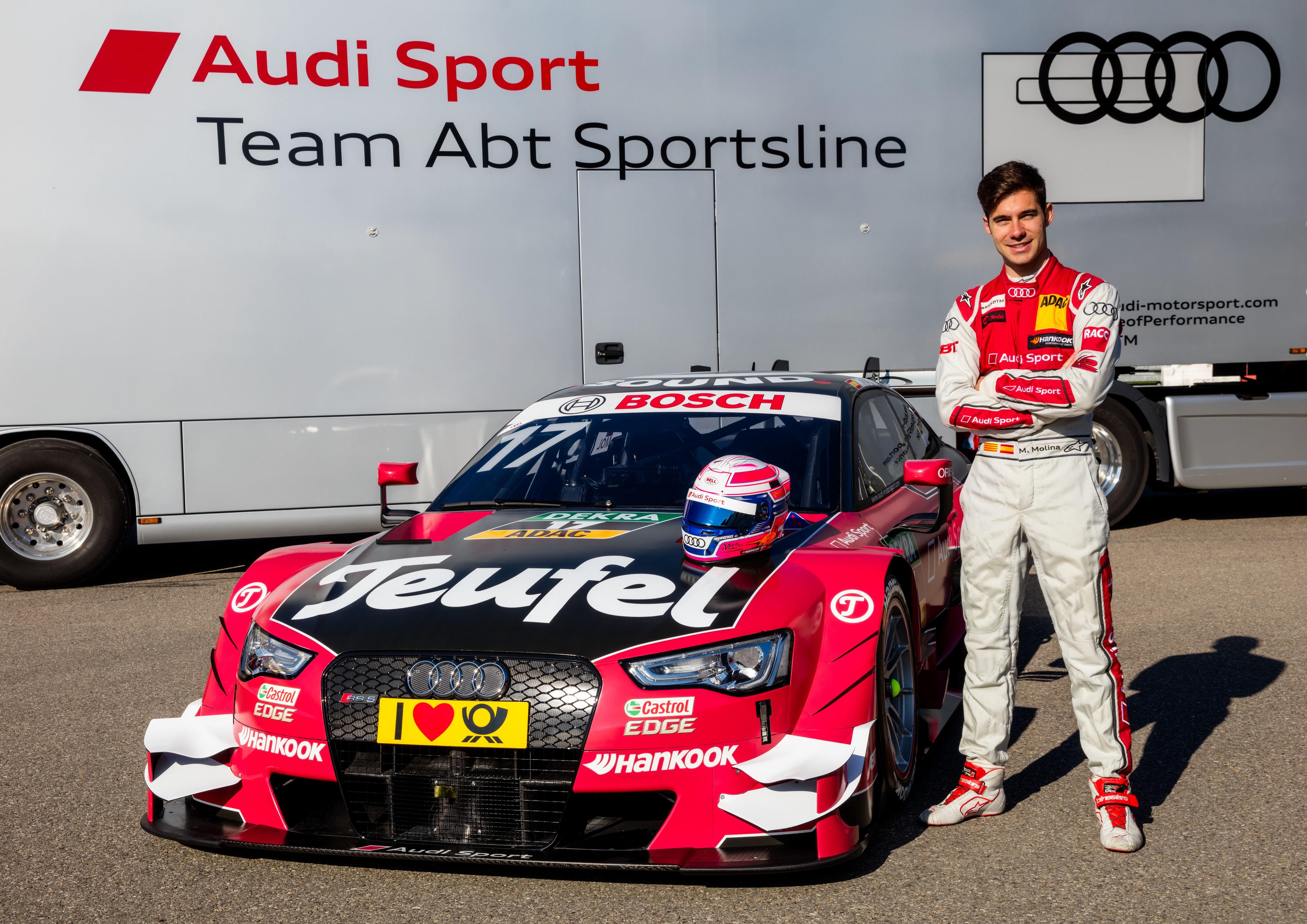 #17 Miguel Molina Teufel Audi RS5 DTM
