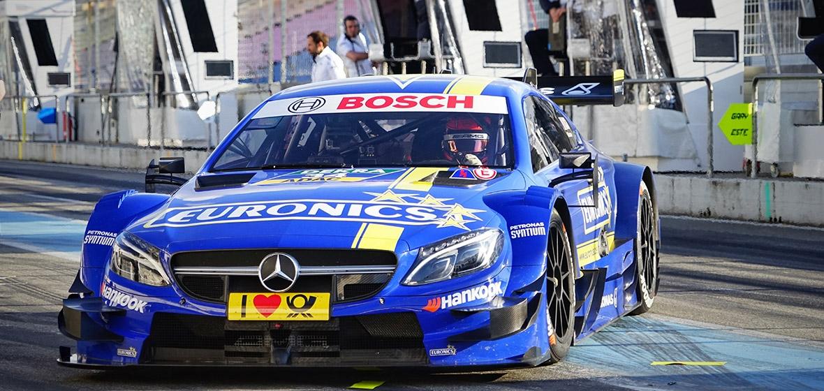 #2 Gary Paffett EURONICS/ FREE MEN'S WORLD Mercedes-AMG