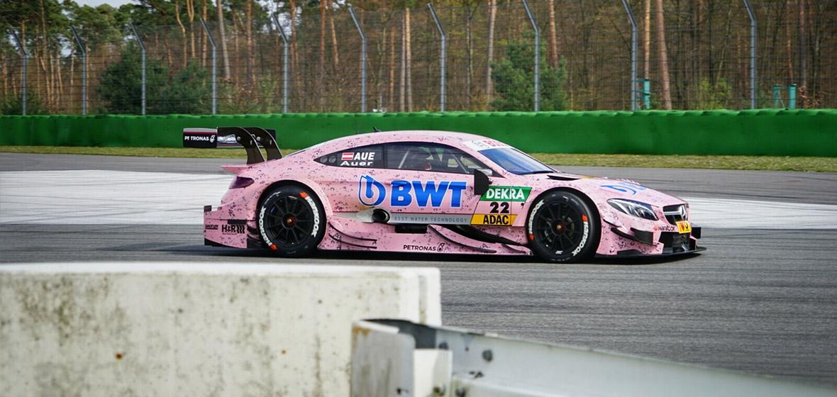 #22 Lucas Auer BWT Mercedes-AMG